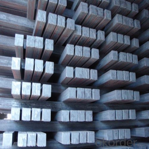 Steel Long Product of Square Section Bar High Quality