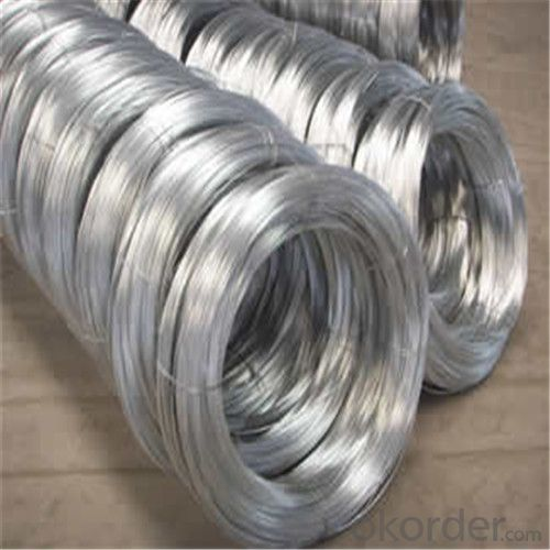 Galvanized Iron Wire/Low carbon steel wire/Hot Dipped or Electro Galvanized