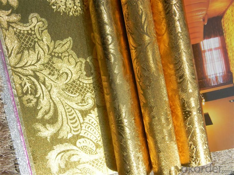 Metallic Wallpaper Living Room Decoration Murals Wallpaper with High Quality