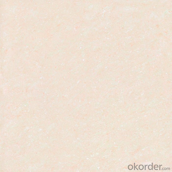 Polished Porcelain Tile Crystal Jade Serie Pink Color CMAX26602