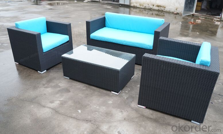 8 Seater Sofa for Dinning with Waterproof Cushion for Garden Patio Outdoor Furniture CMAX-SS007CQT