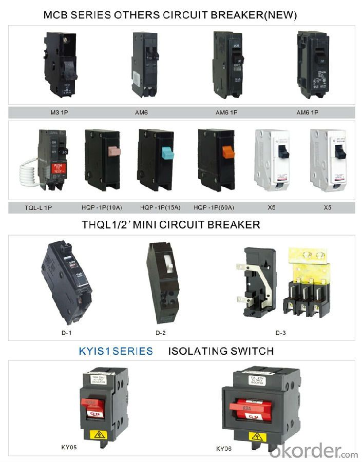 MCB Series MINI Residual Current Circuit Breaker