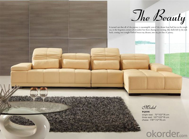 Hot Selling Leather Sofa with Best Quality