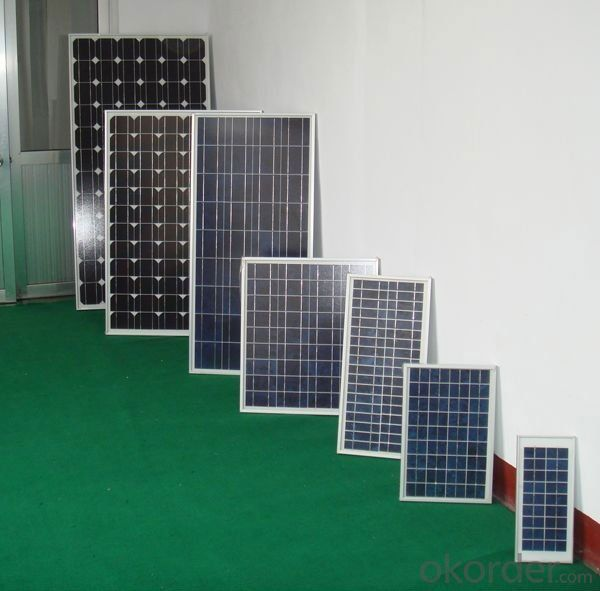 Hot Sale 170W Monocrystalline  Solar Panel  with Competitive Price CNBM