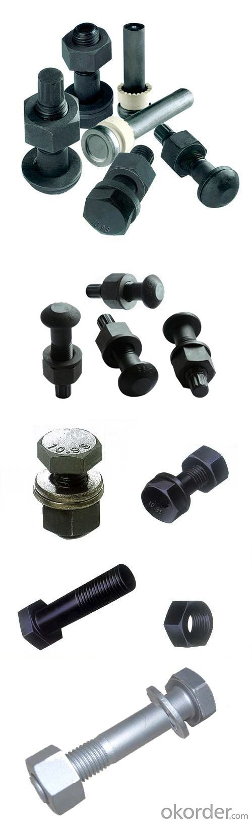 High Strength Heavy Hex Bolt T. C Bolt (Tension Control Bolt) for Steel Structure