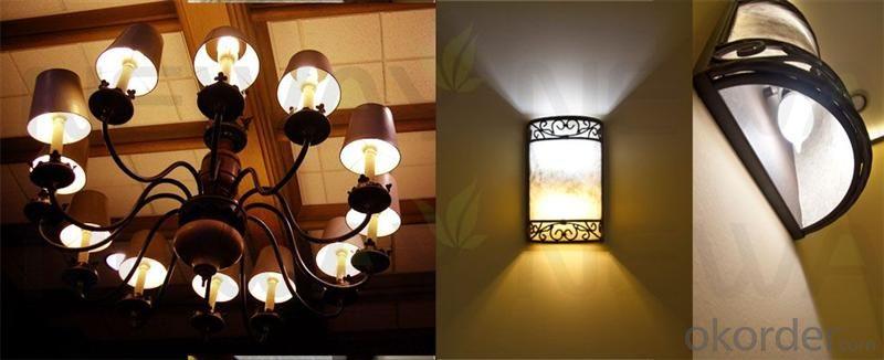 LED Bulb Ligh corn ecosmart low heat no uv E27 G10 2000k-6500k 5000 lumen dimmable