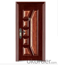 Iran hot sale design  metal door  for home and building