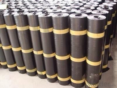 Self adhesive SBS bitumen waterproof membrane