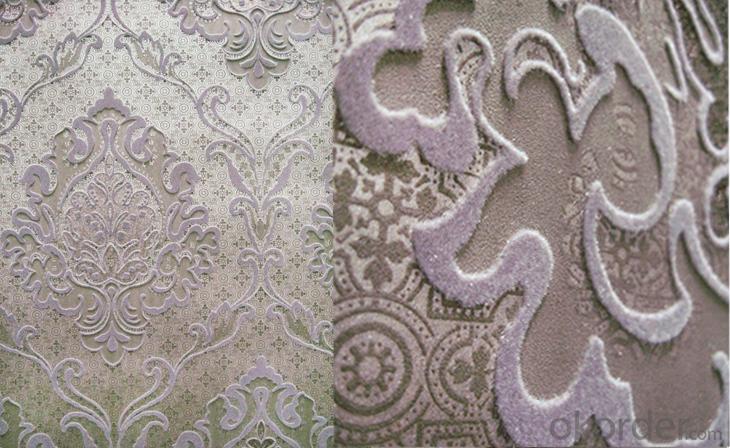 Nonwoven Wallpaper  KTV Hotel Project  Wallpaper  Sound proof  Wallpaper