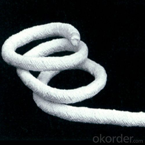 1260C Ceramic Fiber 3-Ply Twisted Rope in 3mm-50mm