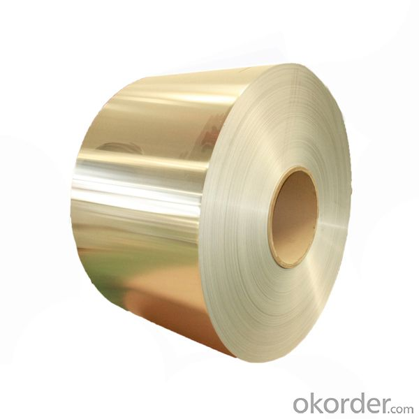 Coated Aluminium Coil for Roofing Sheet/PE/PVDF Color Coated Aluminum Coil with God Quality