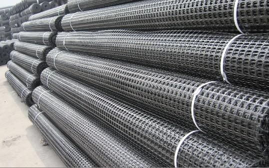 HDPE Uniaxial Geogrid with High Strength Manufactury