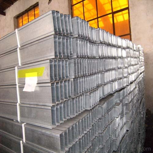 Galvanized Steel Metal keel for Drywall for Steel Construction with High Strength