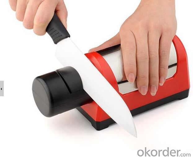 Electrical Knife Sharpener with Antislip Base