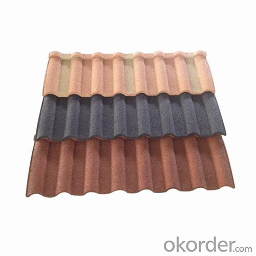 Stone Chips Coated Metal Roofing Tile-Classcial Tile