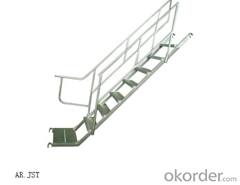 J-Stair for Arch Frame/ Ladder Frame/All-round System with Q235 Q345 CNBM