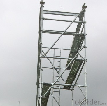 Galvanized Steel Ladder Scaffolding for use CNBM