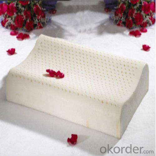 Health Latex Foam Pillow High Quality Milk White