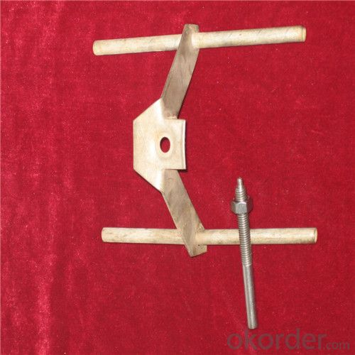Ceramic Fiber Module Aluminum Silicate with 304# Anchor Part