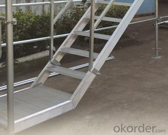 Scaffolding AS/NZ 1576 Layher Stair Ladder Platform