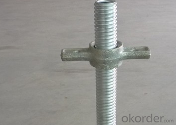 Scaffolding Screw Base Jack Steel with good quality CNBM