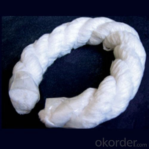 Ceramic Fiber Rope, Diameter 3mm-50mm for Heat Treated Furnace