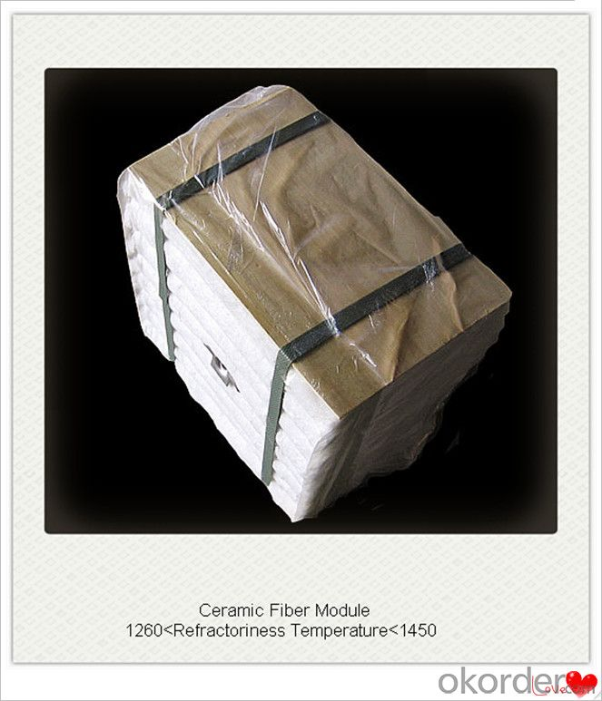 Ceramic Fiber Module Boiler Insulation with Achor System in Furnace and Kiln Insulation