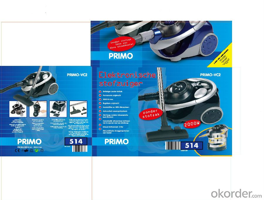 Wet and Dry Vacuum Cleaner  Cyclone Bagless Water Filtration
