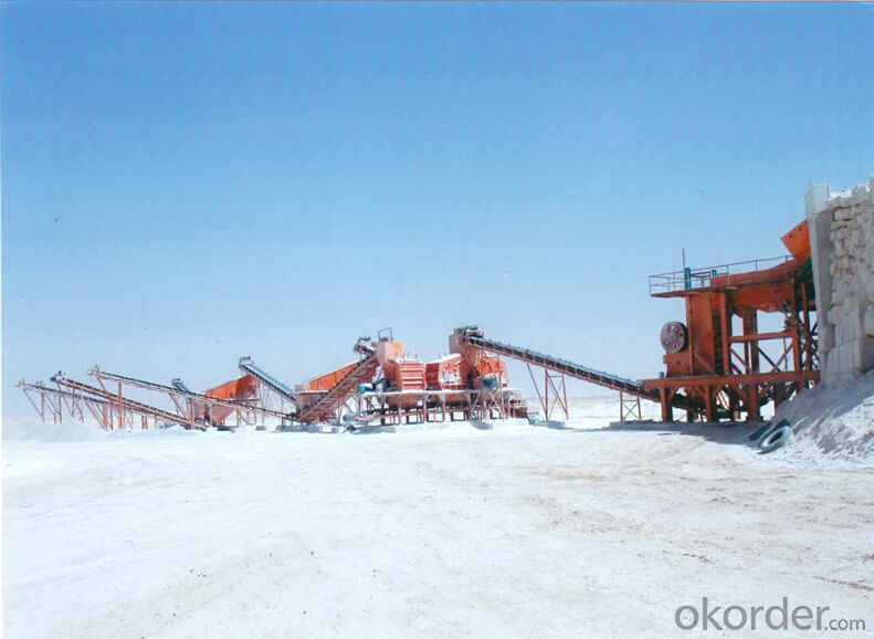 Jaw Crusher for Pyrophyllite Crushing for Glass Additive