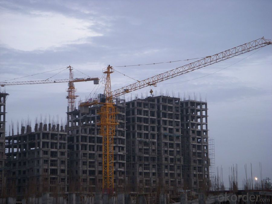 TC6520 Tower Crane with Tower Head with CE ISO Certificate