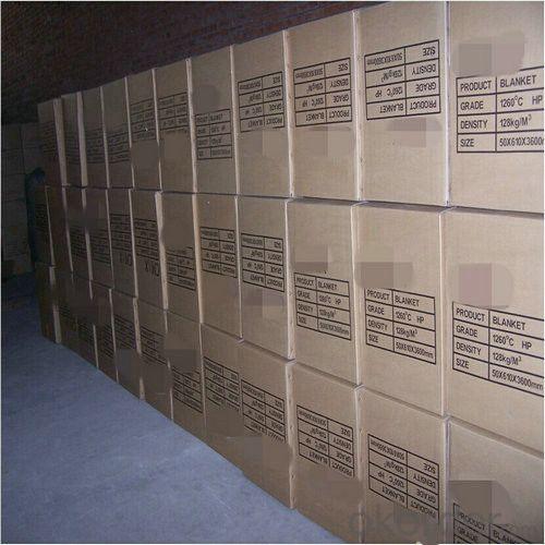High Alumina 1350℃ Ceramic Fiber Blanket, 128 Bulk Density