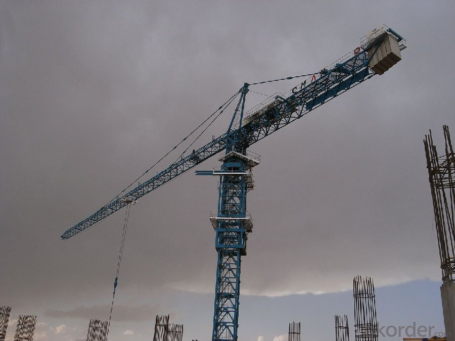 TC6024 Topless/Topkit/Flat-top 10T Tower Crane with CE ISO Certificate