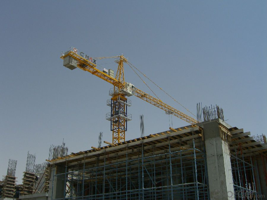 Tower Crane Requirements : Buy tc t flat top tower crane manufactures with ce