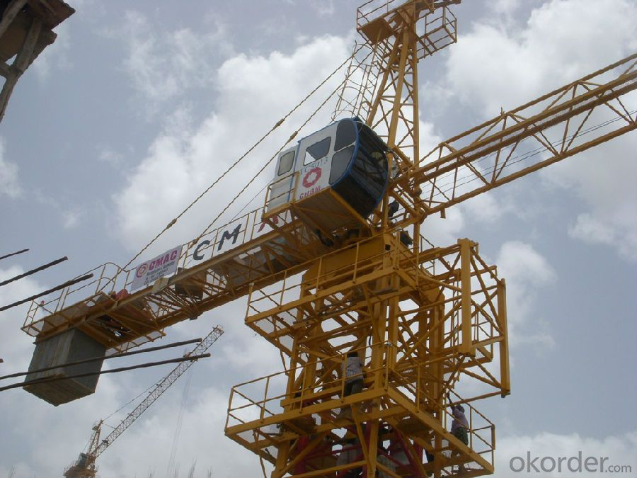 High Efficiency QTZ40 Tower Crane for Sale,Tower Crane Price,Types of Tower Crane