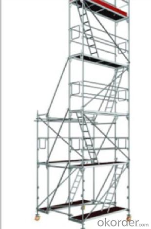 Facade Modular Scaffolding System with plettac standard CNBM
