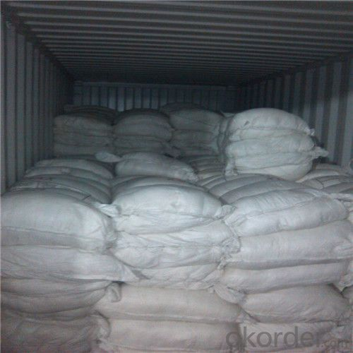 Ceramic Fiber Spun Bulk in Pure White Thermal Insulation