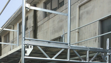 Facade Scaffolding Steel System-top end frame CNBM