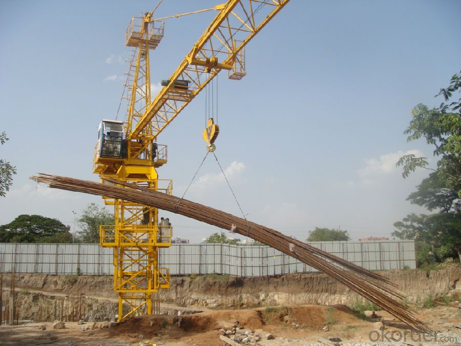 Flat-top Tower Crane QTP80(TC5511) with Reasonable Price for Sale