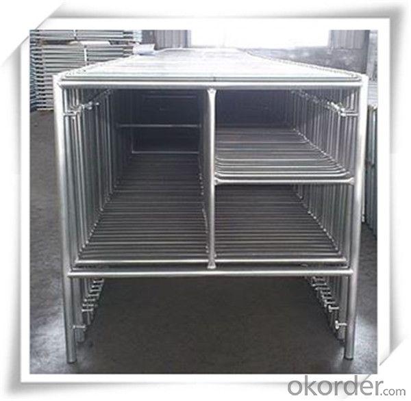 Hot Dip Galvanized H Frame Scaffolding 1219*1930*42*2.4 CNBM