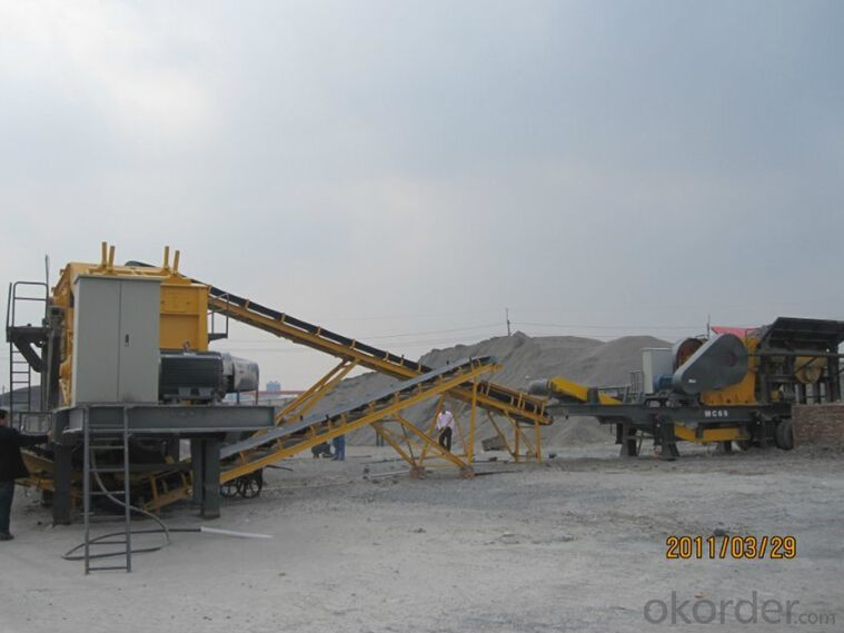 Stone Jaw Crusher for Basalt Crushing with Good Final Shape
