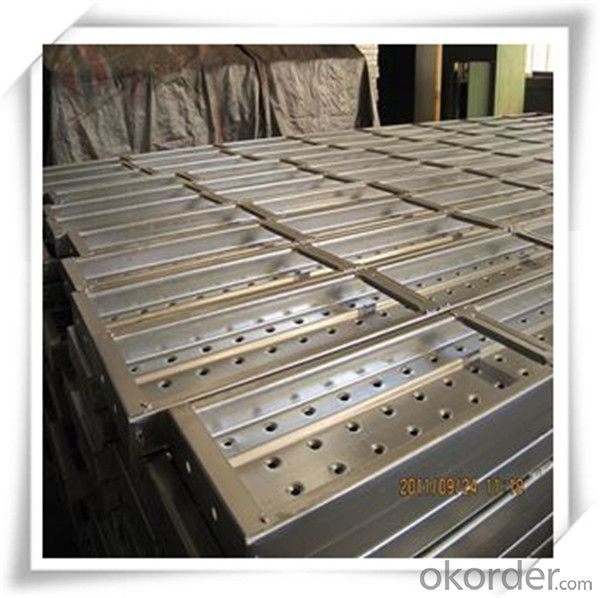 Hot Dip Galvanized Steel Plank Metal Planks 210*45*1.2*3000 CNBM