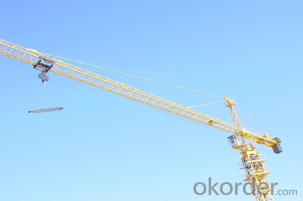8T Tower Crane In India with CE ISO Certificate