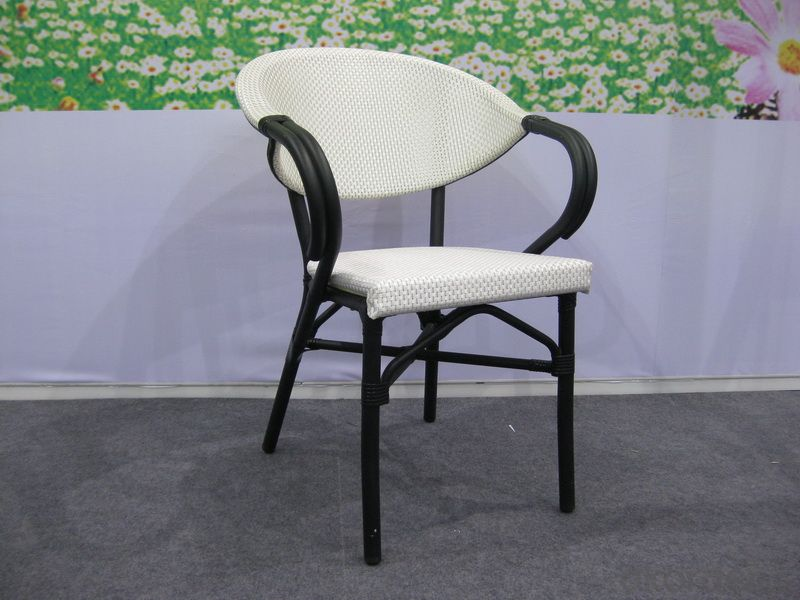 Fabric + Alu Chair