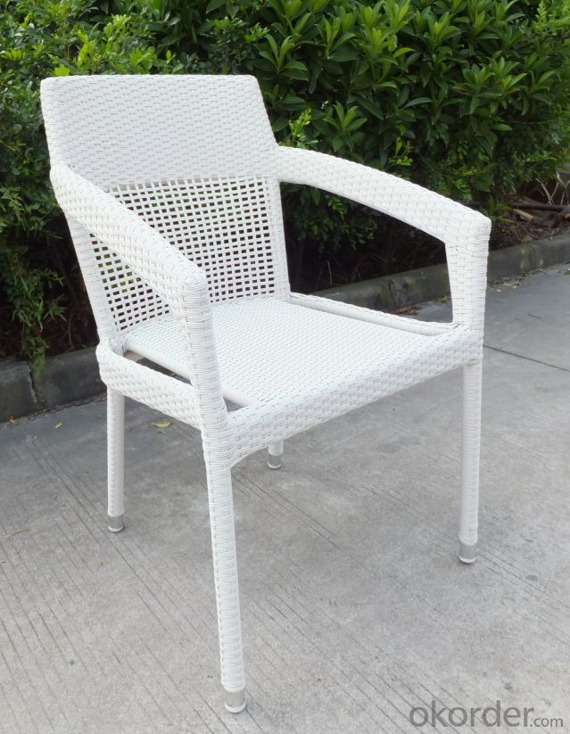 Outdoor Viro Wicker Garden Chair with Aluminum Frame