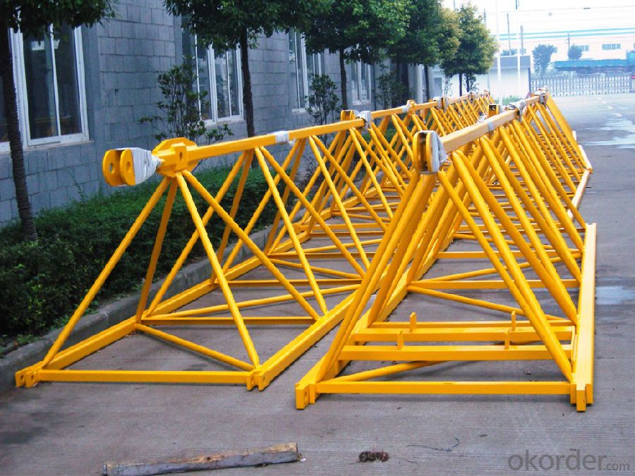8T Tower Crane Supplier with CE ISO Certificate