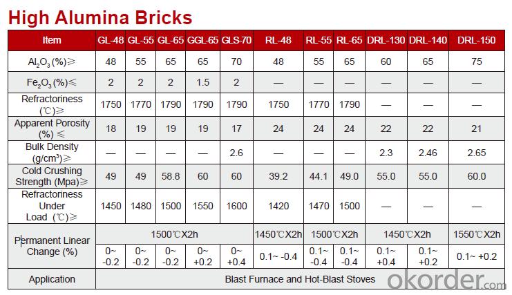 High Alumina Fire Bricks for Steel Ladle