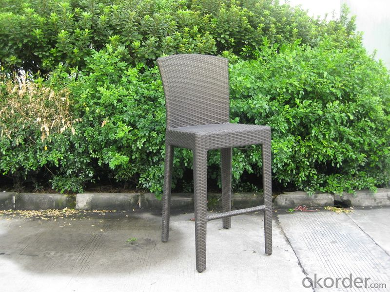 Outdoor Patio Chair with Aluminum Frame and UV radiation