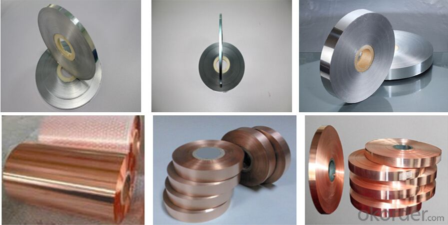 Al Pet Laminated Foil or Copper Polyester Foil for Cable