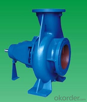 DIN 24255 Centrifugal End Suction Water Pump for Water Circulation