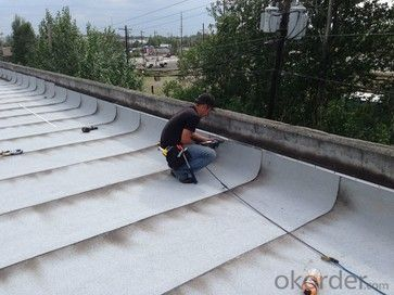 Roof or Underground PVC Waterproof Membrane